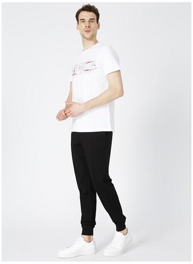 Fabrika Sports Fabrika Sports Merson Beyaz Bisiklet Yaka Erkek T-Shirt Beyaz